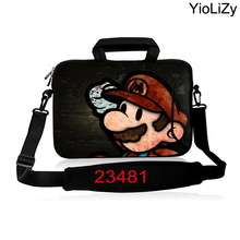 waterproof Laptop Shoulder Bag 17.3 15.6 14 13.3 11.6 10 inch Neoprene Notebook Sleeve Messenger Bag Men Women Handbag SB-23481(China)