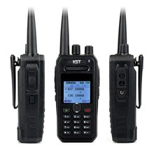 KST UV-F1000 Fashionable Portable DUAL BAND Ham Radio with 8W HIGH POWER Long Distance Walkie Talkie 4500Mah Li-ion Battery