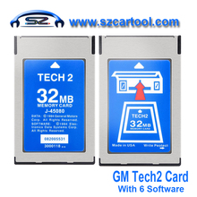 2016 Super 32MB CARD FOR GM TECH2,Holden/Opel/GM /SAAB/ISUZU/Suzuki 32 MB Memory GM Tech 2 Card  with Lowest Price