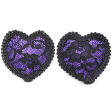 Buy Women Sexy Heart Model Nipple Cover Erotic Pasties Lace Bra Pads Reusable Breast Tape Sticker Fetish Cubre Pezones