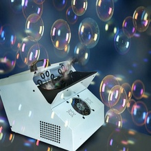 For wedding /Party/KTV Large double bubble machine stage Effect Machine light with the remote control(China)
