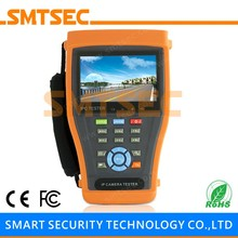 "SMTSEC IPC-3400C 4.3"" Touch Screen 800*480 Onvif Monitor Analog and IP Camera Tester Cable Tracer Audio CCTV CVI Camera Tester(China)"