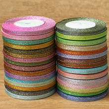 Hot sale (25 yards/lot) 1/4''6mm colorful onions ribbon Christmas Party Wedding packaging ribbon DIY cake decoration gift ribbon(China)