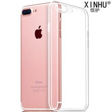 for Apple iPhone 6s cases ultra-thin TPU soft shell transparent 100% for iPhone X case 7 7plus 8 8plus 6 phone protective cover