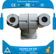 Hight speed Intelligent Infra Red detection range 430~1100 meter outdoor thermal imagery PTZ camera Pan Tilt Zoom camera