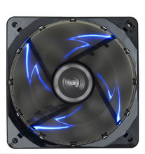 2016 Limited New Computer Fan Controller Water Cooler Enermax120mm12cm 12025 Chassis Fan Cpu Cooler Blue Light Red
