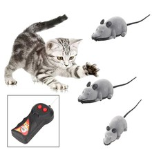 Vivid live Mouse Toy Trendy Hot Wireless Remote Control RC Electronic Rat Mouse Mice Toy Novelty Gift Cat Pet Funny Toy