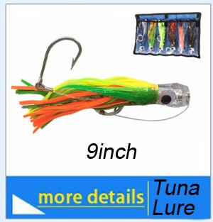 Albaacore-tuna-on-fishing-lure
