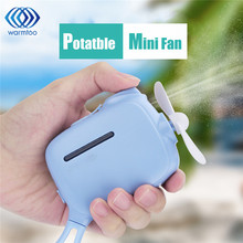 Mini Handheld Humidifier Cooling Fan Portable Mist Water Sprayer Cooling Fan USB Rechargeable For Home Office Outdoor