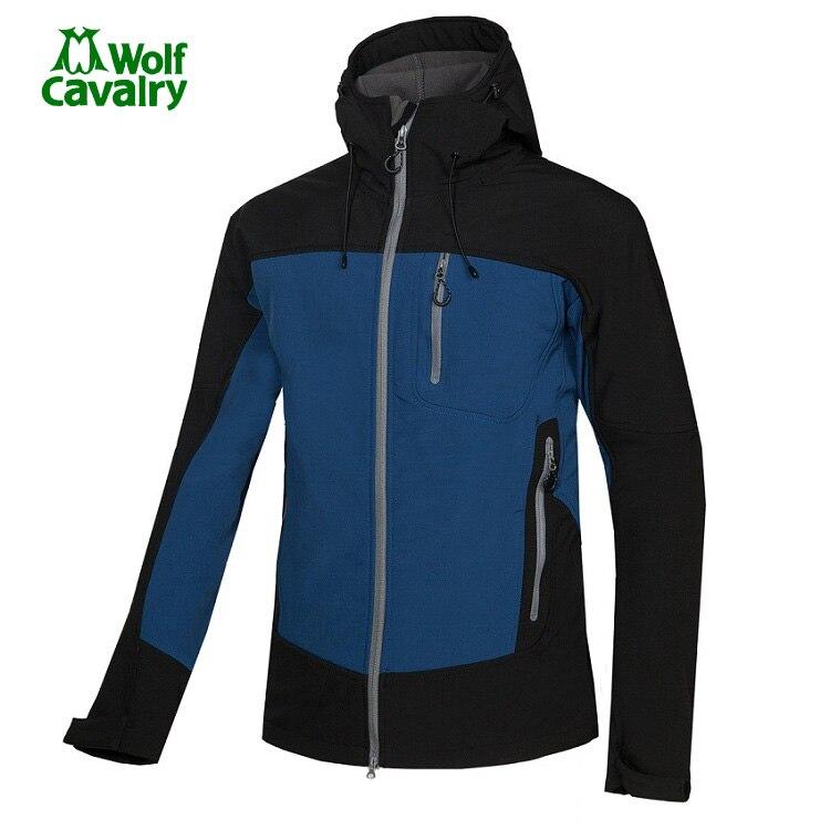 CavalryWolf  Man Waterproof Hunting Fishing Camping softshell Fleece jackets Waterproof Windproof Outdoor Hiking Jacket<br>
