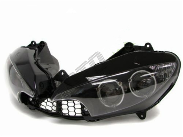 Best  12V YZF600 R6 2003 2004 2005 Black farol carenagem moto Motorcycle headlight assembly kit<br><br>Aliexpress