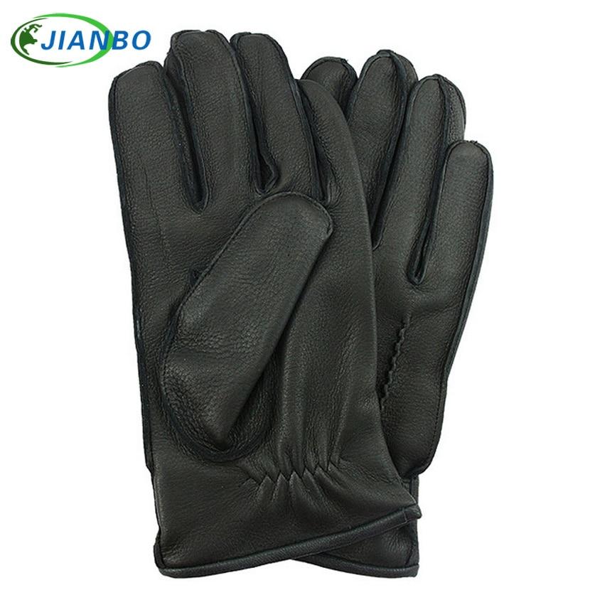 2016 new mens leather gloves fashion models popular deerskin wear comfortable high-end<br>