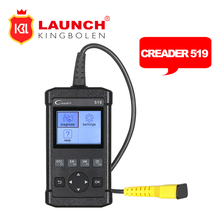 Car DIY Scanner Launch CReader 519 OBD2 Code Reader Read Vehicle Information Diagnostic Tool same as Creader 5001 Autel AL519(China)