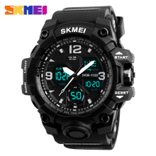 New Military Sport Watch Men SKMEI Electronic LED Digital Wrist Watch Male Clock 50M Waterproof Quartz Watch Relogio Masculino(China)
