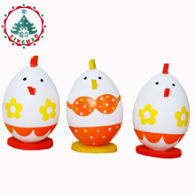 inhoo  Easter eggs Children play house cute little gift personality The bikini chicken painted birthday party toys home decor