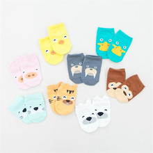 8 pairs/lot 2016 Autumn 8 Colors New Cotton Newborn Baby Socks Children's Socks for Newborns Nonslip Calcetines Bebe Ankle Sock