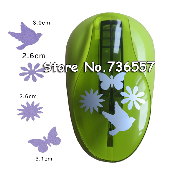 New Free Shipping New arrvial 4-patterns paper punch extra large scrapbooking Paper Creative Craft Hole Punch Embossing<br>