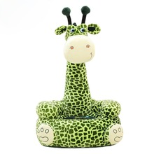 Baby Seat Beanbag Sofa Cute Kawaii Cute Giraffe Children Sofa for Kids Sleeping Bed Baby Nest Puff Chair Bean Bag Plush Toys(China)