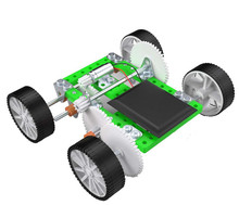 DIY Double Drive Quadruped Robot plastic puzzle Toy Technology Manual for Children Kids Educational toys