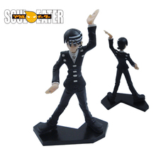 Death The Kid Soul Eater Anime Art Doll 4.16 Inch