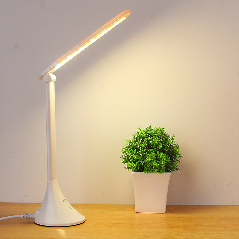 BlitzWolf 4-Mode Eye Care Touch Sensor Dimmable Desk Lamp with USB Charging Port