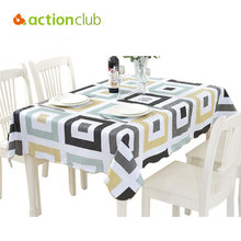 PVC Waterproof & Oil Proof Tea Table Cloth High Quality Country Style Hotel & Home Decorative Tablecloth Elegant Table Cover