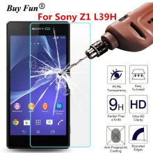 Buy Screen Protector Tempered Glass Sony Xperia Z1 L39H Z1 C6903 C6902 C6906 2.5D 9H Phone Premium Protective Film Case Guard for $1.16 in AliExpress store