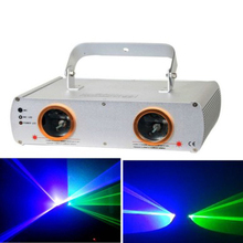 aobolighting High Quality christmas laser lights 7CH laser light show projector indoor Blue 450nm Green 532nm color beam effect