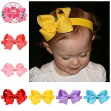 Retail 1pcs New Fashion Hot children kids Baby Girl Bow Headband Toddler Headwear hair band Hair Accessories 608
