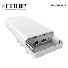 EDUP CPE Wireless WIFI Router WIFI Repeater Long Range 1KM 300Mbps Outdoor AP Router CPE AP Bridge Client Router Support OpenWRT