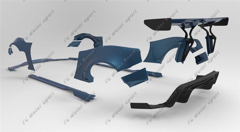 GT86 FT86 ZN6 FR-S Greddy X Rocket Bunny Ver.1 Style Bodykit FRP (24)