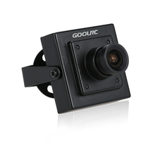 "Original GoolRC 1/3"" 700TVL 3.6mm Mini CCD Camera NTSC for CCTV Security Video FPV Color Camera Aerial Photography Parts(China)"