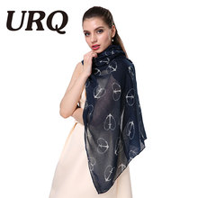 Woman New Design Long Scarves 90*180cm Soft Big Viscose Heart Print Scarves Ladies Holiday Gift Wraps V9A18772(China)