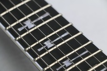Free Shipping Top Quality 24 frets Ebony Fretboard Guitar Tony Iommi Signature SG Electric Guitar Black Lacquer(China)