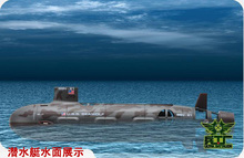 rc submarine 6 channel remote control RC mini submarine nuclear submarine model toy ship