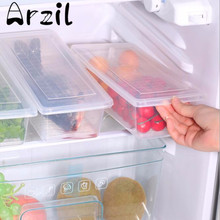 Clear Plastic Refrigerator Food Storage Box Fruits Case Box Household Kitchen Food Storing Tools Organizer Container Kitchenware