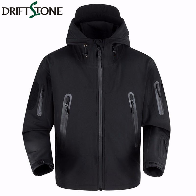 New shark skin high quality tactical jacket waterproof windbreaker men's raincoat military clothing windcheater army jacket