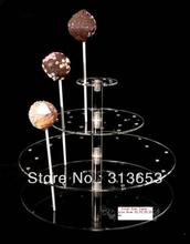 4 tier Transparent acrylic lollipop display stand, party and food stand(size 10,15,20,20cm)- free shipping ,