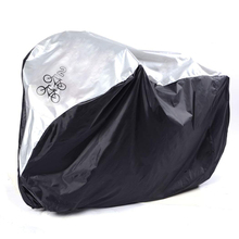 Good deal Universal Waterproof Bicycle Bike Cover Rain Resistant Sun Protection for 2 Bike(China)