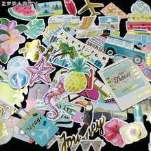ZFPARTY 70pc Our Travel Ship Cardstock Die Cuts for Scrapbooking Happy Planner/Card Making/Journaling Project
