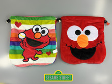 New Arrival Sesame Street ELMO COOKIE MONSTER Multi-functional Coin Bag Accessory Bag Middle Size 20 * 20CM(China)