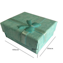 Wholesale Fashion Jewelry Box, Multi colors Rings Box,Earrings/Pendant/necklace Box 5*6*3 Display Packaging Gift Box