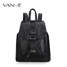 Hot New Travel Backpack Leisure Student Schoolbag Soft Genuine Leather Women Bag High Quality Young People Bag Feminina Mochilas