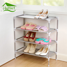 Shoes Rack Shoes Storage Non-Woven Shoe Cabinet Rack Shelf Large Capacity Multi-layer Assembly Shoe Holder Storage Organizer(China)
