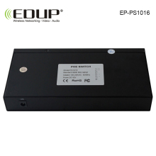 EDUP 8 port 10 / 100/1000M POE Switch network of compatible network cameras and wireless AP power IEEE 802.3af EU/US Plug(China)