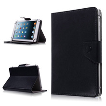 "Soft Universal 9"" 9inch Android Tablet PC MID Folio Leather Stand Cover Case White Black Rose Red Orange Color(China)"