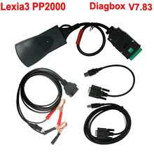 Diagbox 7.83 Lexia 3 PP2000 V48 Diagnostic Tool Lexia-3 PP2000 V25 With Muliti-Language Free Shipping
