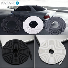 5M Car Door Edge Scratch Guard Protector Strip Roll Moulding Trim Sealing Anti Crash Wear Rubber BMW AUDI TOYOTA - Motor Apprentice Automobile Store store