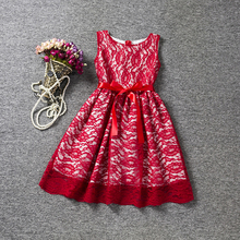 Lace Princess Dress Girl Baby Boutique Clothing Fancy Infant Children's Costume Kids Party Dresses for Girl Wedding Summer Dress