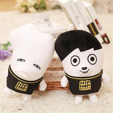 7 style 23cm Youpop KPOP Korean Fashion Bangtan Boys Plush Dolls Cute Cartoon BTS Boyfriend Stuffed Toys for Kids Birthday Gifts(China)